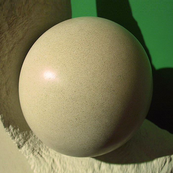 Section - Limestone sculpture no. 017