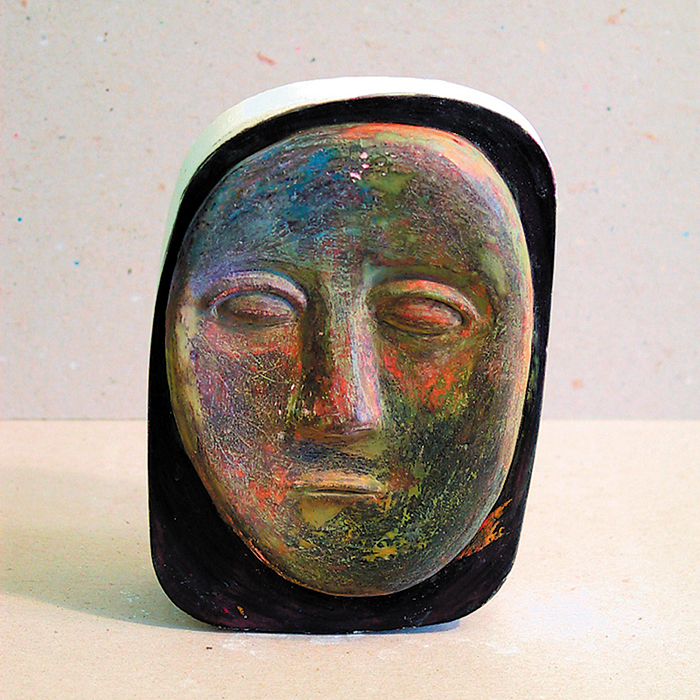 Painted face - maquette